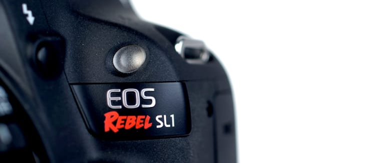 Canon rebel sl1 hero