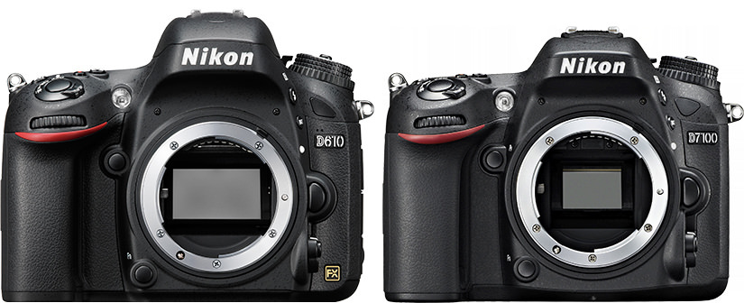 Nikon FX vs DX Comparison