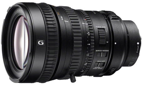 Product Image - Sony FE PZ 28-135mm f/4 G OSS Standard Zoom Lens
