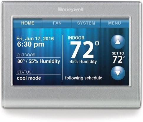 Product Image - Honeywell Smart Wi-Fi Thermostat