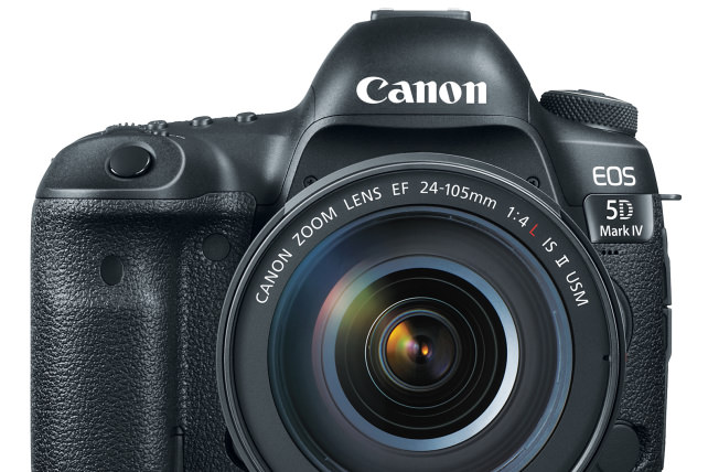 Canon 5D Mark IV Front View