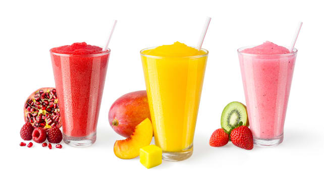 Frozen fruity drinks