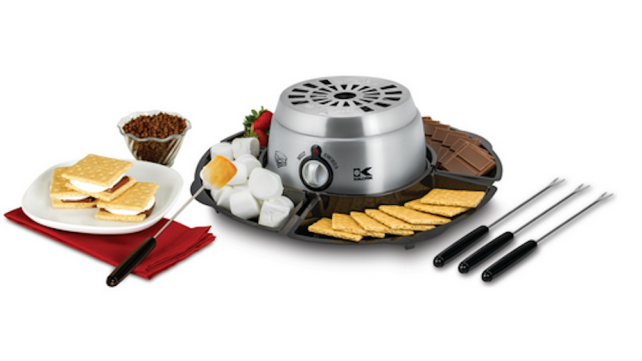 Kalorik 2-in-1 S'mores Maker with Chocolate Fondue Feature