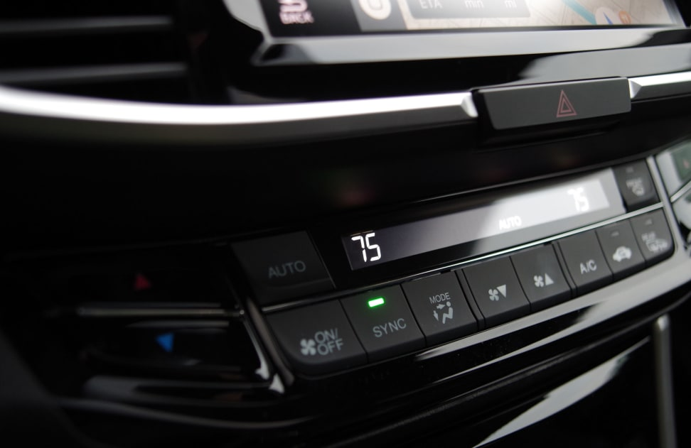 2016 Honda Accord Physical Controls