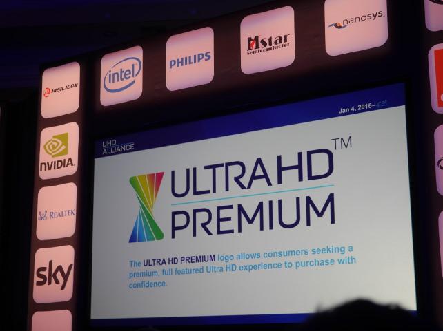 UHD Alliance Display