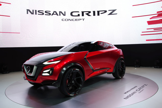 Nissan Gripz Concept Cameras
