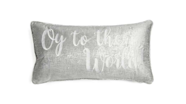 Oy to the World Pillow