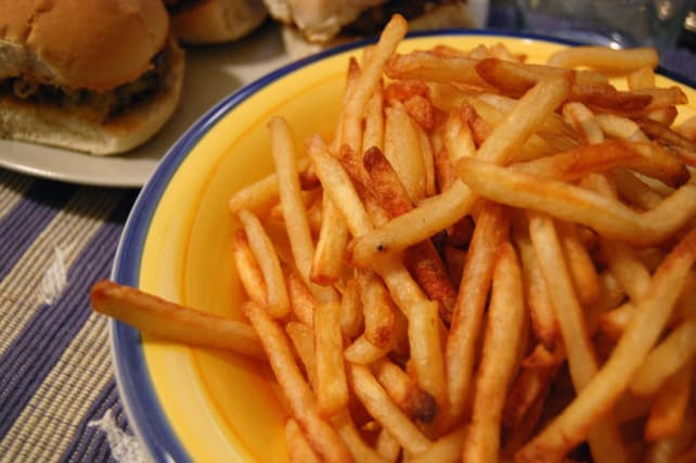 how to cook homemade french fries in the oven