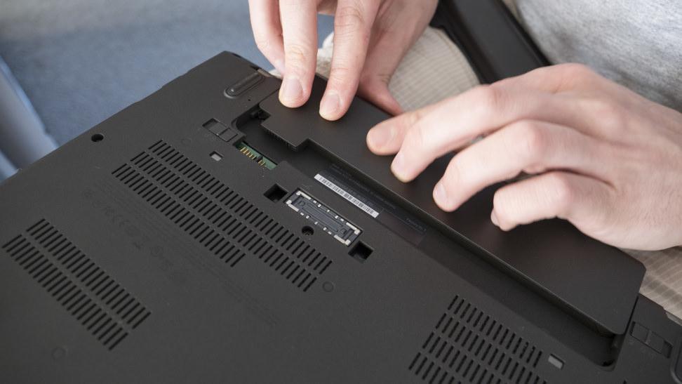 Inserting Battery