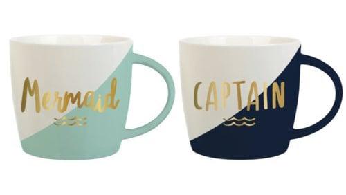 Slant Mug Set