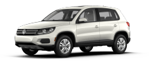 Product Image - 2013 Volkswagen Tiguan S with Sunroof