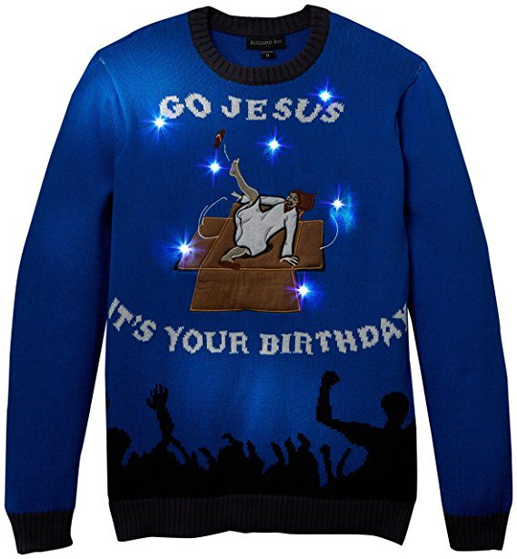 Breakdancing Jesus Sweater