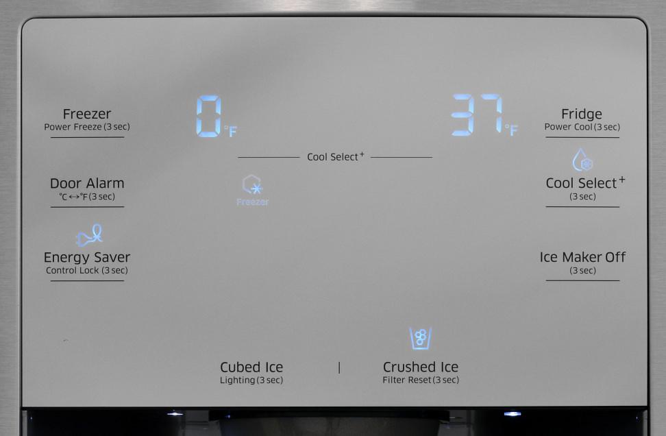 Samsung RF23J9011SR Controls