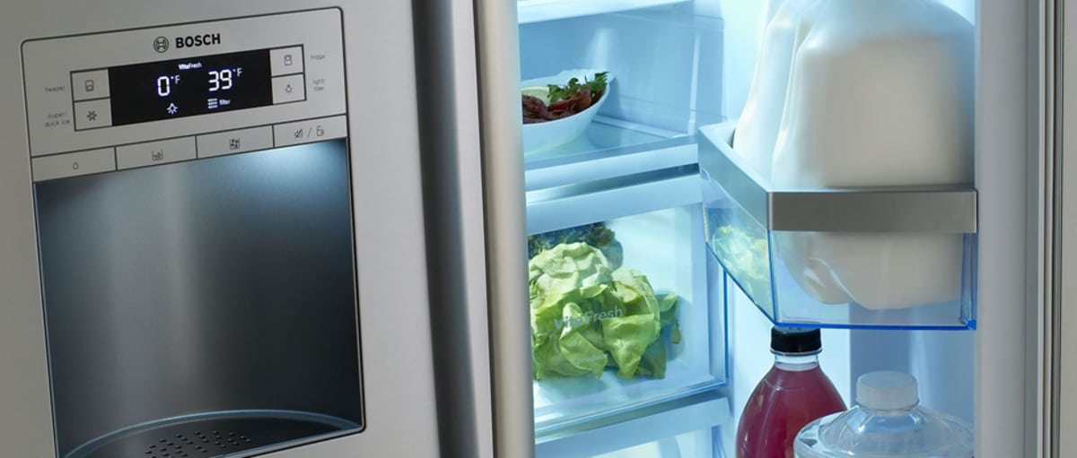 bosch b26ft70sns review refrigerators. Black Bedroom Furniture Sets. Home Design Ideas