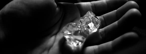 Ice in hand hero