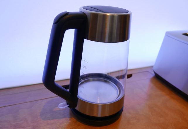 OXO Clarity Cordless Glass Electric Kettle