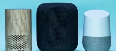 Big three smart speakers