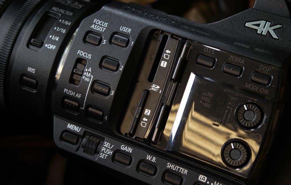 HC-X1000 - Dual SD Ports