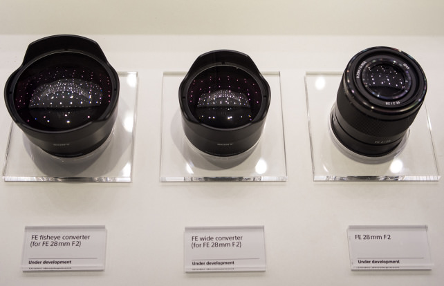 FE 28mm f/2 –With Converters