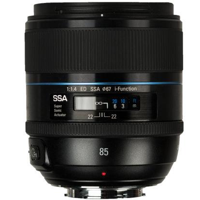 Product Image - Samsung 85mm f/1.4 ED SSA