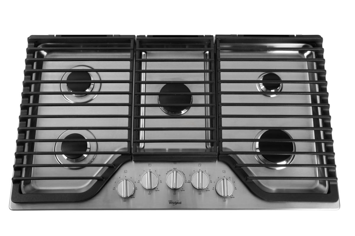 Whirlpool WCG97US0DS 30-Inch Gas Cooktop Review - Reviewed.com Ovens