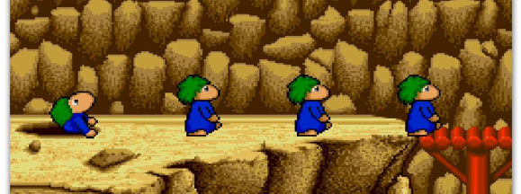 Lemmings hero