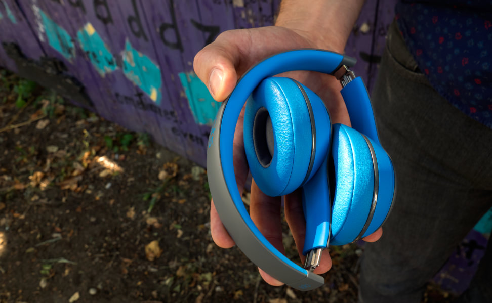 Beats Solo2 Wireless Headphones Folded Up