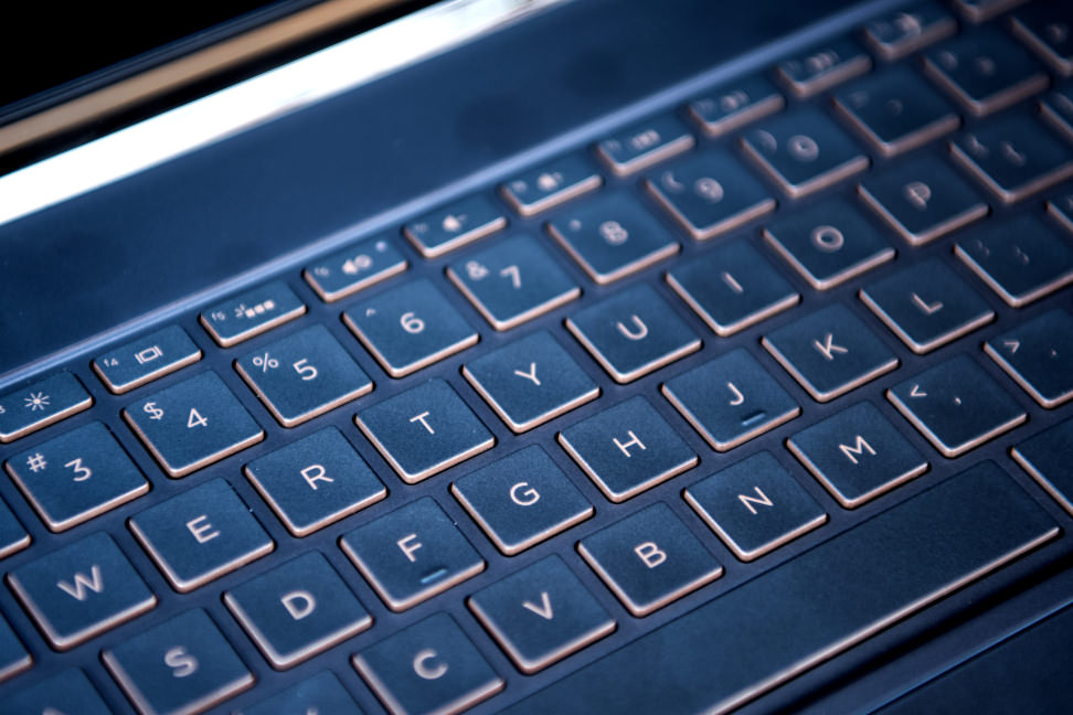 HP Spectre HP Keyboard