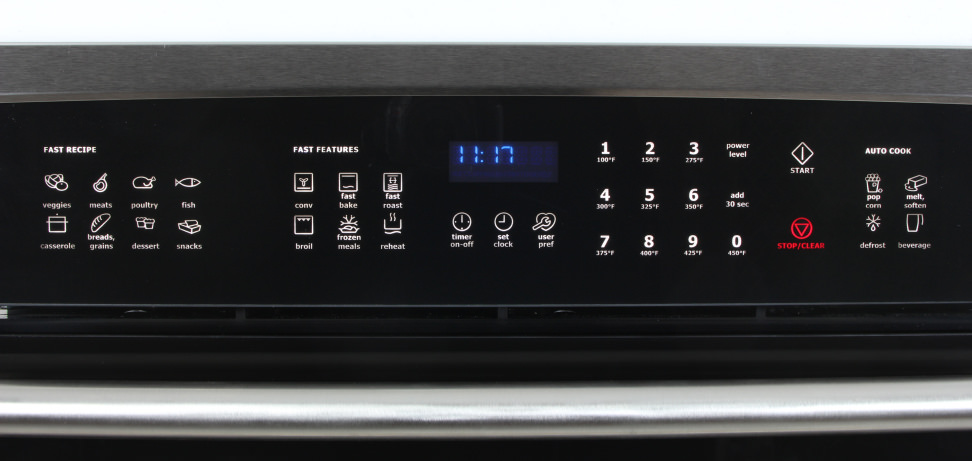 Electrolux EW30SO60QS Controls