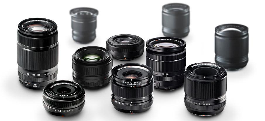 Fujifilm XF Lenses