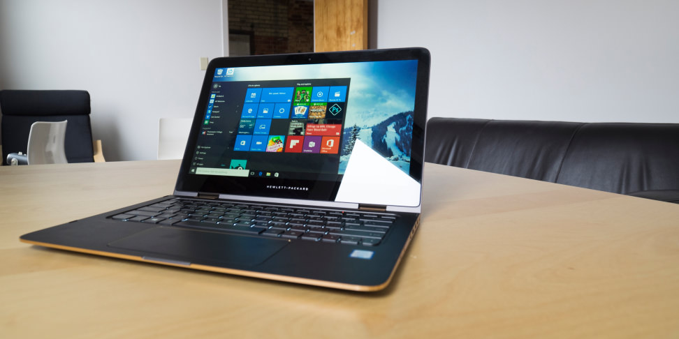 HP Spectre X360 13-inch On Desk