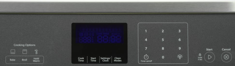Whirlpool WOS51EC0AS Controls