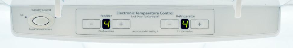 Whirlpool WRF535SMBM Controls
