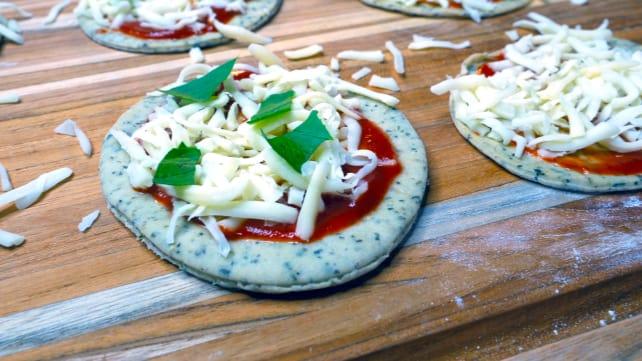 Pre-oven pizza