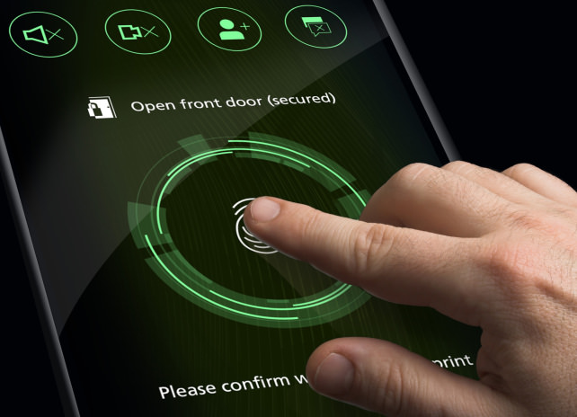 Bosch's touchscreen provides drivers haptic feedback.