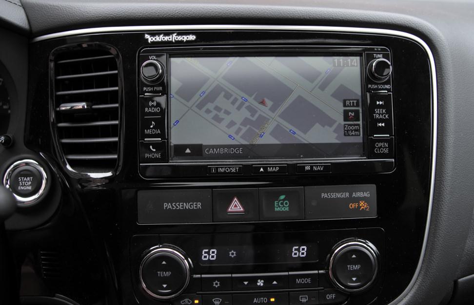 2016 Mitsubishi Outlander Navigation
