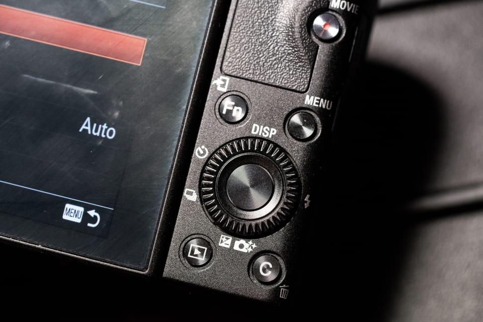 Sony Cyber-Shot RX100 IV Design Rear Controls