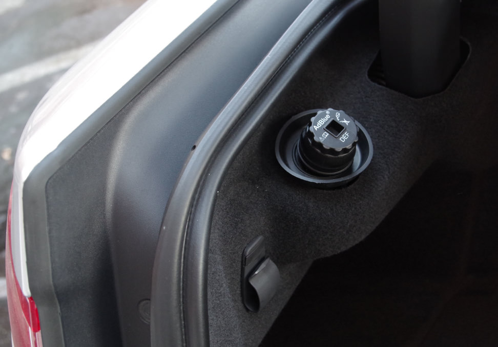 Jaguar XF Diesel Exhaust Fluid