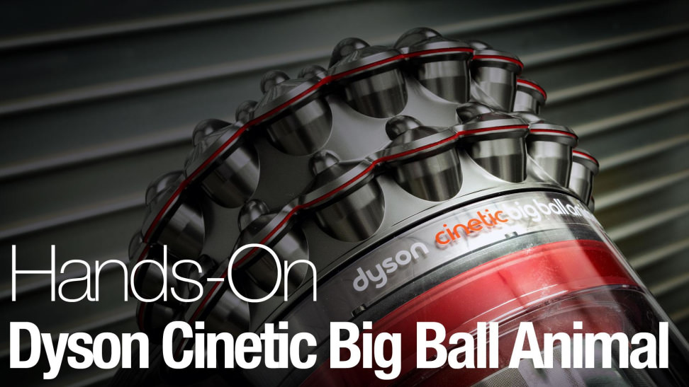 thanks to clever engineering this dyson always lands on its feet - Dyson Cinetic