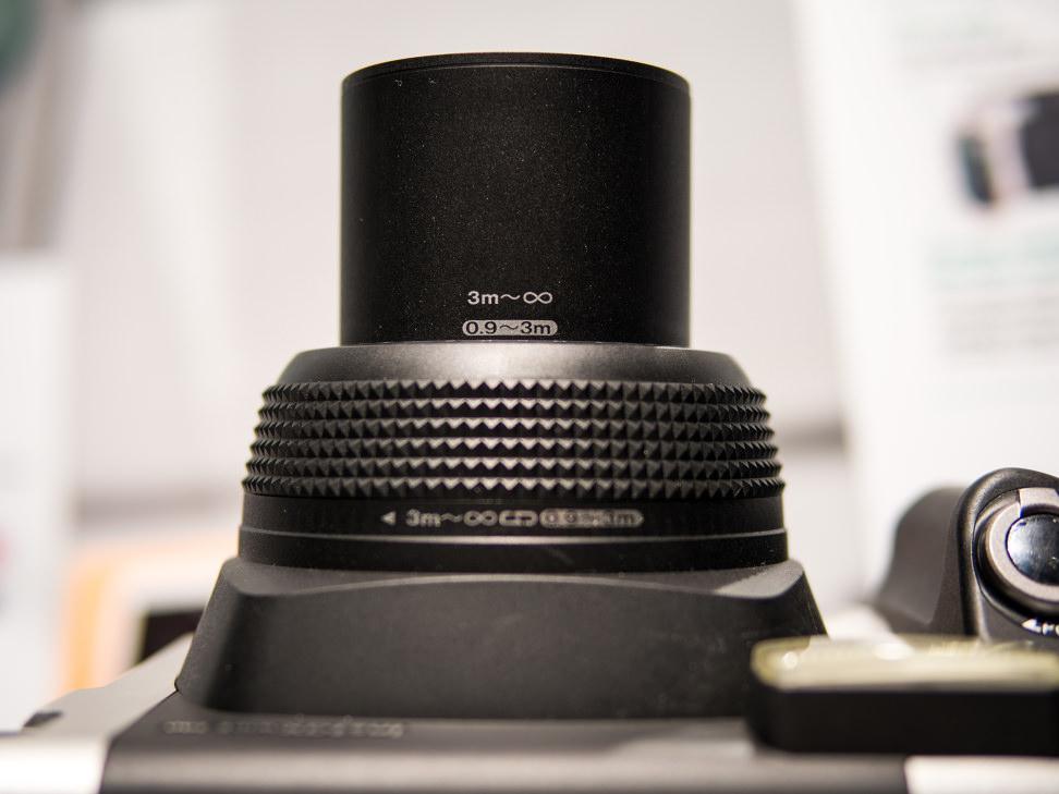 Fujifilm Instax Wide 300 – Lens Markings