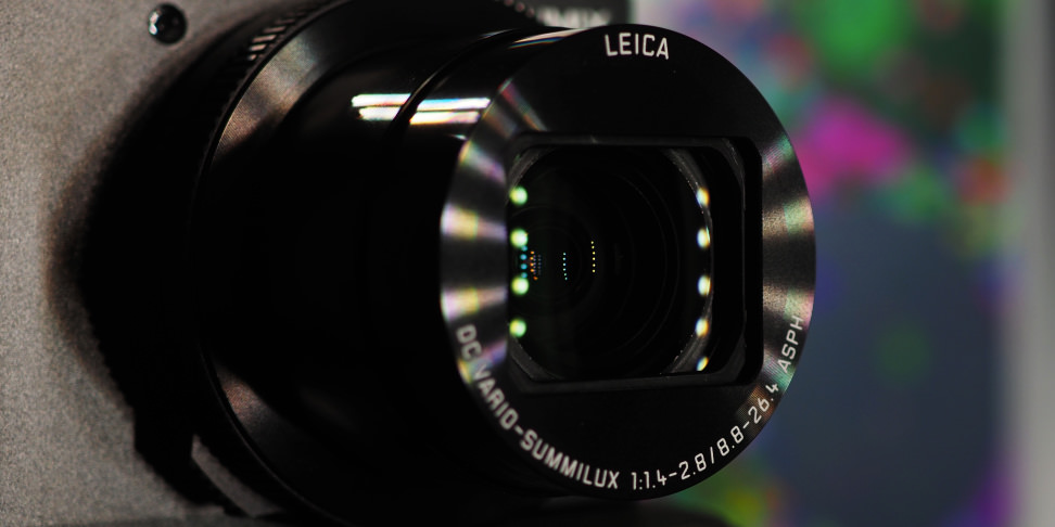 Panasonic Lumix LX10 Lens