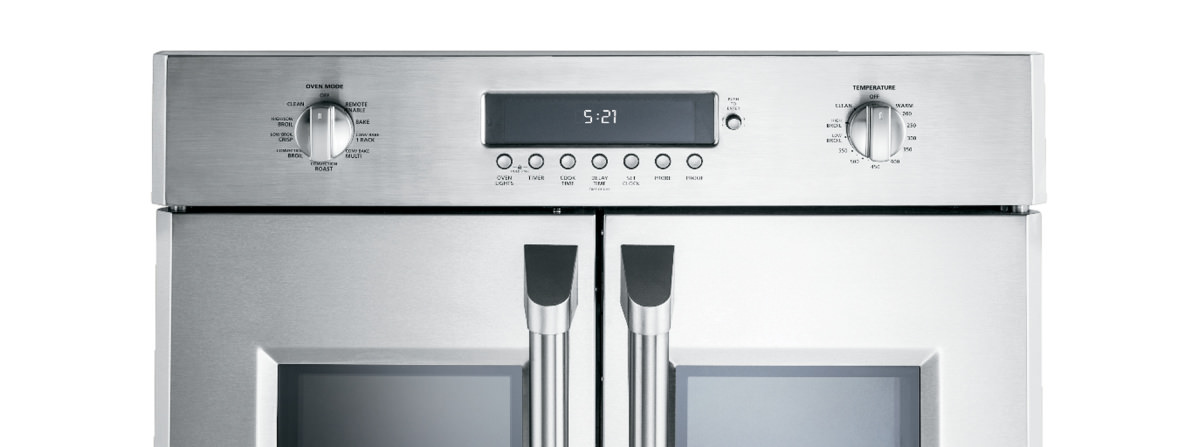 ge announces the monogram zet1fhss french door wall oven