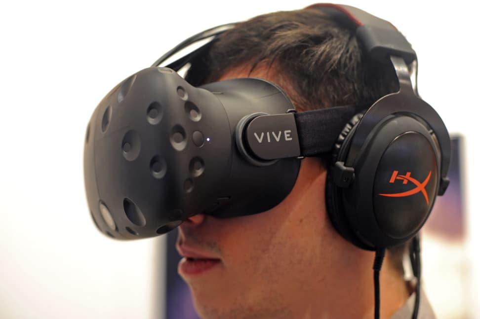 HTC Vive - Headset Sensors