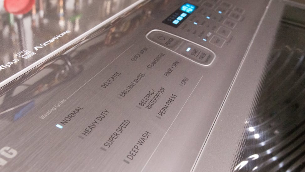 Samsung-control-panel