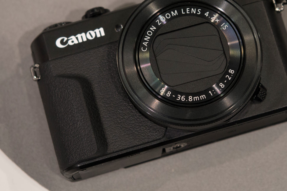 Canon PowerShot G7 X Mark II Front Grip