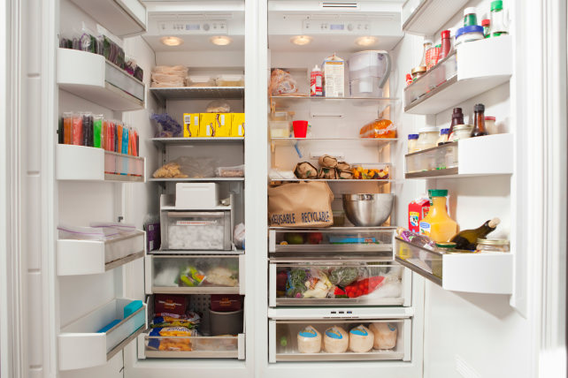 Refrigerator zones