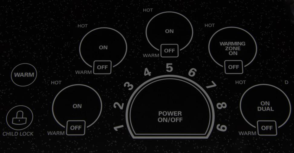 LG LCE3010SB Controls