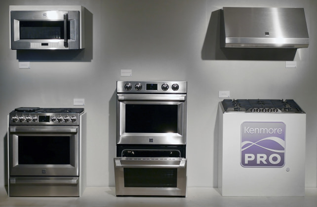 Upscale kitchen design goes mainstream with kenmore pro - Upscale kitchen appliances ...