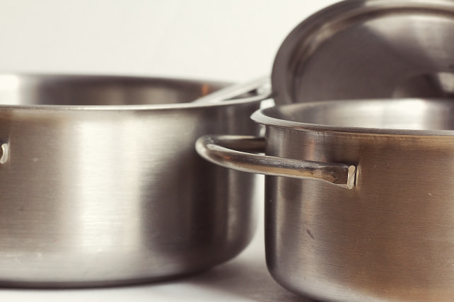 Stainless pots