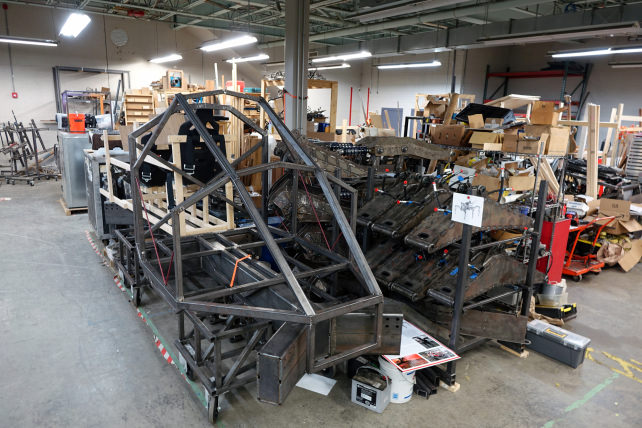 Project Hexapod in Pieces